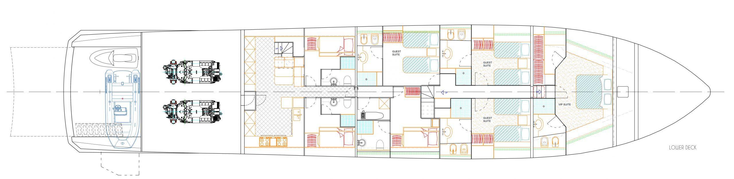 Lower deck design leopard version 1